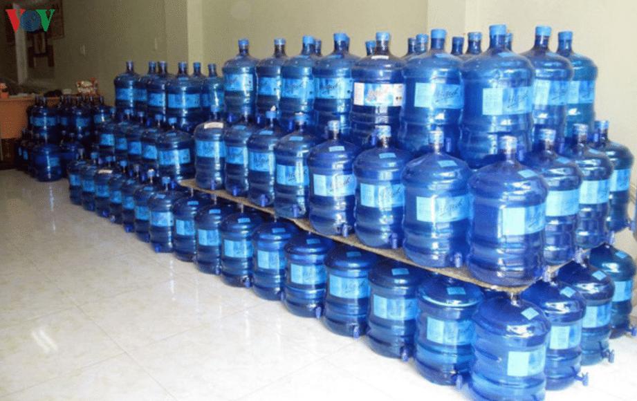 nước đóng bình có sạch không?