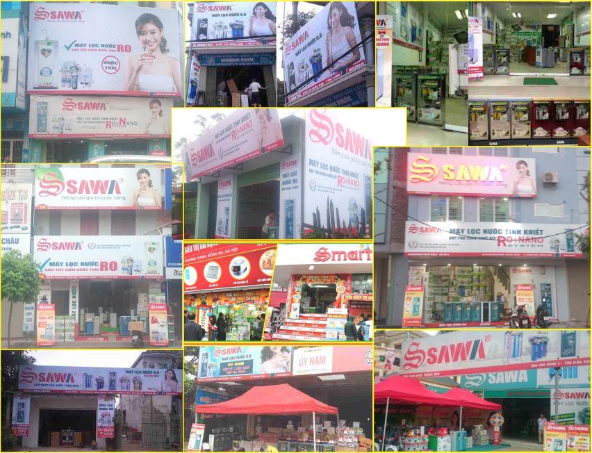 Điểm Bán hàng Showroom Sawa