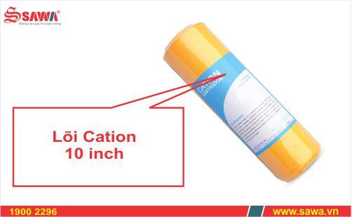Lõi lọc nước làm mềm nước Cation 10 inch (Lõi lọc bổ sung)