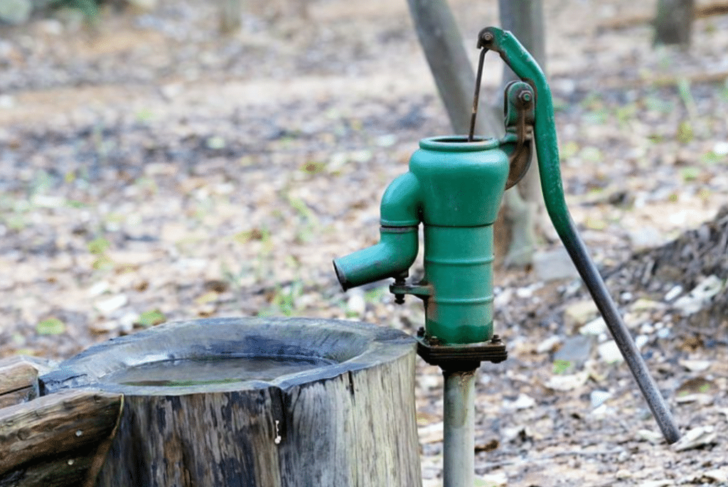 sơ đồ hệ thống lọc nước giếng khoan mới
