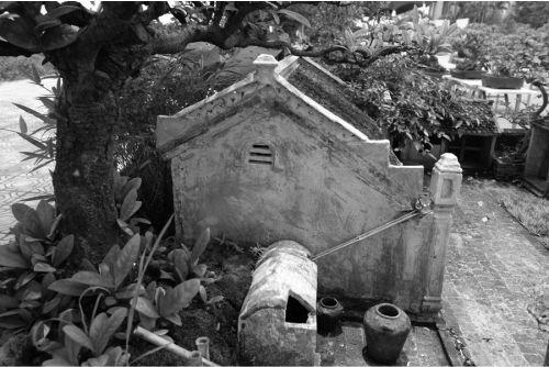 Bể nước mưa truyền thống